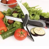 Умный нож ножницы 2 в 1 Clever Smart Cutter