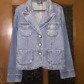 легкая джинсовая куртка пиджак жакет Crazy World