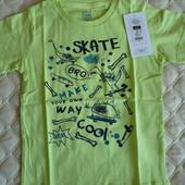 Стильная футболка с модным принтом от Cool club by Smyk, размер 110 см