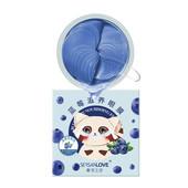 Гидрогелевые патчи под глаза с экстрактом черники Sersanlove Blueberry Nourishing Eye 60шт