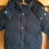 Куртка, еврозима, внутри флис, 2-3 года 98 см. H&M.