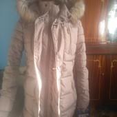 Зимовий плащ 46р