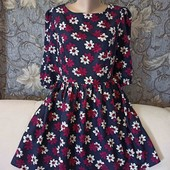 Лёгкое, воздушное, невесомое платье в цветочный принт, Atmosphere, p. M