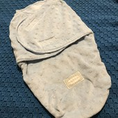 Тепла пельонка-кокон для малюка до 62 см