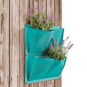 Для растений тканевое кашпо-органайзер в упаковке 2 шт florabest