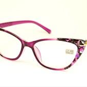 """Дополнение весеннего образа! Стильные имиджевые очки """"Кошечки""""и Лисички с диоптриями плюс+"""