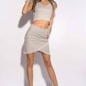 Костюм женский с помпонами- размер и цвет на выбор!