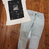 джинсы от Frame и футболочка