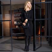 Нарядное стильное двухслойное платье из ткани джерси от Tchibo(германия) размер 42 евро=48