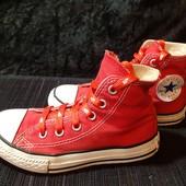 Красные кеды Converse, разм. 28,5 (17,5 см по бирке, реально 19 см внутри).