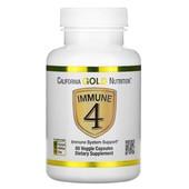 Iherb США Immune4, средство для укрепления иммунитета, 60растительных капсул