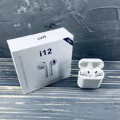 Bluetooth наушники Double BT i12-tws.хорошее качество