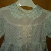 Красивое платье на малышку 3-4лет