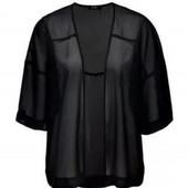 Женская накидка кимоно черная Esmara оверсайз