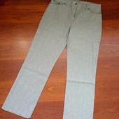 42р. Льняные брюки-джинсы M&S Straight Leg, замеры