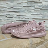 Бомбезные кроссы пудравые в стиле Nike