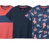 Лот с 3 котоновых футболок Lupilu 98/104