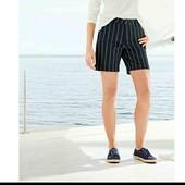 esmara стильные катоновые стрейчевые шорты евро 34+6 замеры