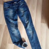 Стречеві темно сині джинси, ідеальний стан, 10% знижка на УП
