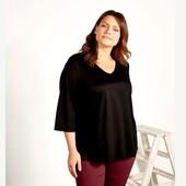 Шикарная , стильная блуза - туника от esmara , германия , р. 48 евро, наш 54