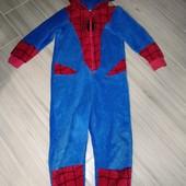 Слип пижама домашний комбинезон поддева 2-4года замеры на фото