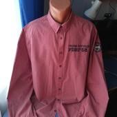 Мужская рубашка, р.XL( ворот 43-44)
