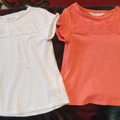 Фирменные футболки в идеальном состоянии р. 4-6 лет