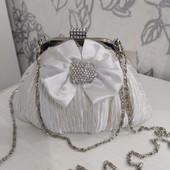 Эксклюзивная нарядная сумочка кросс боди. Цена ниже закупки. остатки