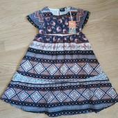 Легкое платье lupilu коллекция heidi klum для девочки 1-2 года.