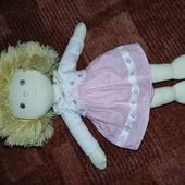 Кукла ручной работы, текстильная