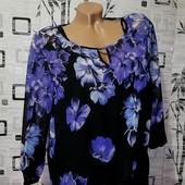 ❤️Новая, эксклюзивная блуза, дорогой шифон на подкладке ❤️