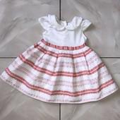 Стоп ,в отличном состоянии❤ Фирменное красивое платье,3-6 мес❤ Много лотов!
