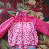 Курточка на девочку для двора, дачи, 104. Нюанс в описании