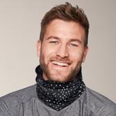 ☘ Багатофункціональний шарф-снуд 7 варіантів носіння від Tchibo (Німеччина), універсальний, унісекс