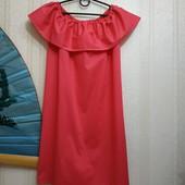 Платье летнее новое М-L, цвет-малина