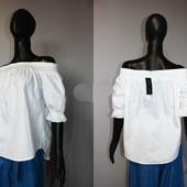 Качество! Романтическая блузочка/удлиненная спинка от New Look