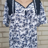 Новая хлопковая ночная рубашка 50