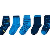 ⚙ Лот 3 пари ⚙ Для хлопчика-якісні шкарпетки з органічної бавовни, Tchibo (Німеччина), розмір: 27-31