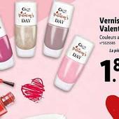 Лак для ногтей Cien valentine's day, 8мл., цвет красный или белый