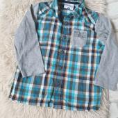 Рубашка topolino, 98р,в идеале,много лотов
