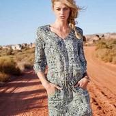 Воздушная женская туника платье с карманами 36р евро Tcm Tchibo Германия смотрите замеры