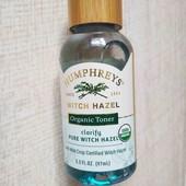 Тонер Humphreys clarify witch hazel (USA)