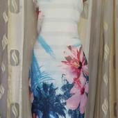 прямое трикотажное платье