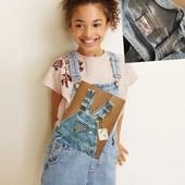 """❤Модный джинс.комбенизон шортами для девочки, бренд """"Chic"""",р.М (5/6),100%коттон,4-7л.(см.замеры)❣"""
