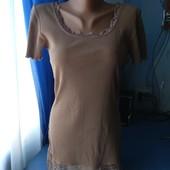 Платье с кружевом, р.М