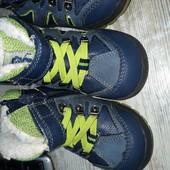 Зимние ботиночки для мальчика, размер 22, стелька 14 см. Можно для двойни