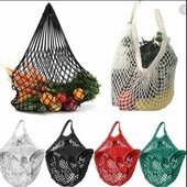 ☘ Лот 2 шт ☘ Трендова бавовняна сумка-авоська Tchibo (Німеччина), 2шт