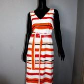 Качество! Стильное натуральное макси платье от Principles Petite, в новом состоянии, р.16+-