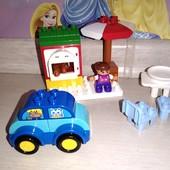 Конструктор для самых маленьких крупные детали совместим с Лего и Мега блокс