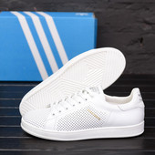 2 расцветки Кожаные летние кроссовки Adidas(40-45р)